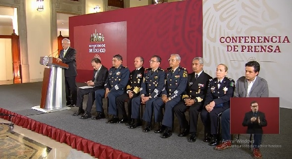 Tarjeta informativa de la Conferencia de Prensa Matutina del presidente López Obrador 12/04/19
