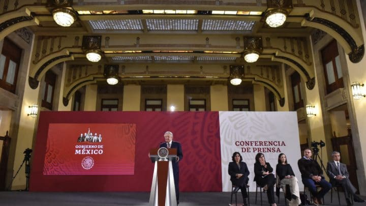 Tarjeta informativa de la Conferencia de Prensa Matutina del presidente López Obrador 15/04/19