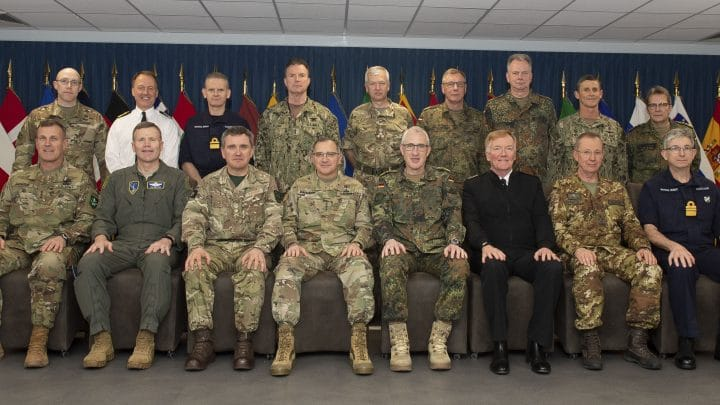 SACEUR Hosts Commander's Conference at SHAPE