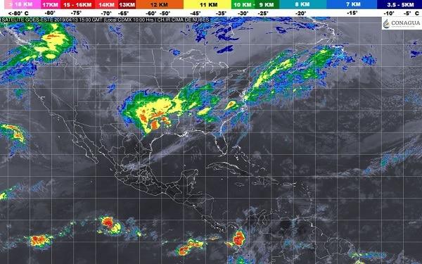 Se prevé ambiente estable, escaso potencial de lluvia y temperaturas de cálidas a calurosas