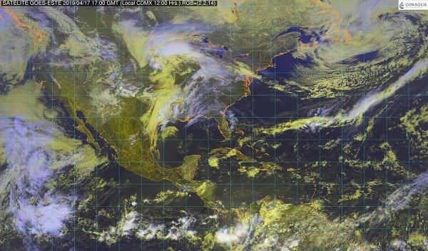 El Frente Frío Número 52 ocasionará vientos fuertes y chubascos en el noroeste de México