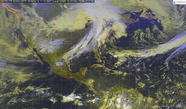 Se estima evento de Norte con rachas superiores a 80 km/h en la costa sur de Veracruz, el Istmo y el Golfo de Tehuantepec