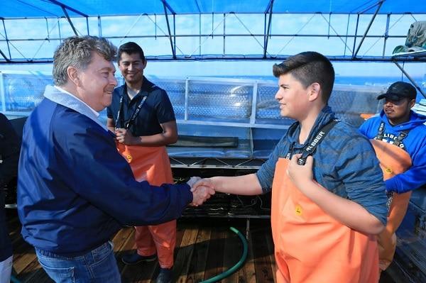 Continúa gobernador Kiko Vega gira de trabajo por el sur del estado