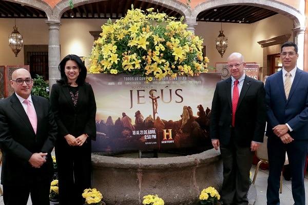 """History estrena en exclusiva la miniserie  """"Yo Conocí a Jesús"""""""