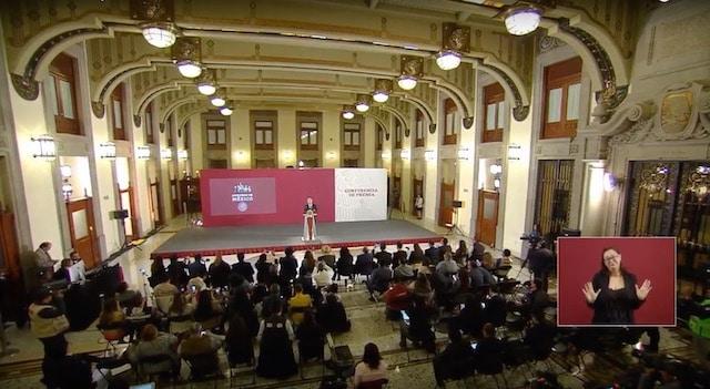 Tarjeta informativa de la Conferencia de Prensa Matutina del presidente López Obrador 08/04/19