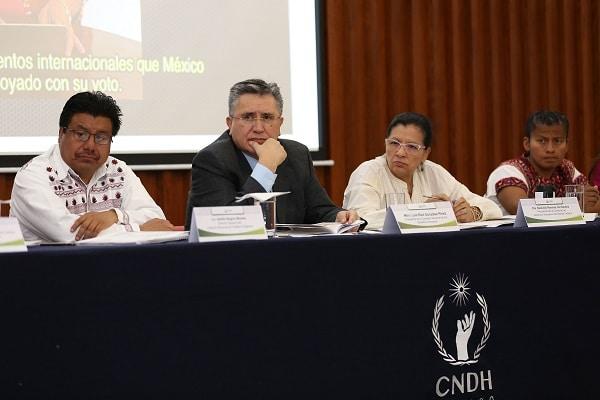 Advierte CNDH sobre afectaciones a pueblos y comunidades originarias por proyectos de explotación y desarrollo