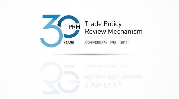 El Mecanismo de Examen de las Políticas Comerciales de la OMC cumple 30 años