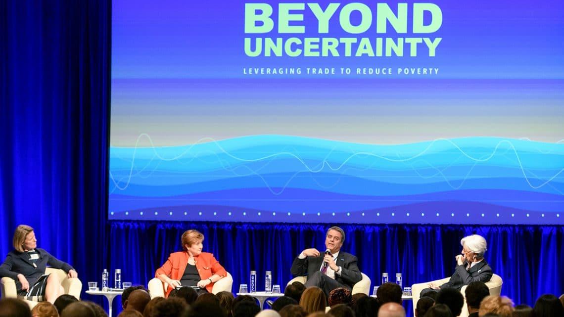 Los dirigentes de la OMC, el FMI y el Banco Mundial destacan el papel vital del comercio en la reducción de la pobreza
