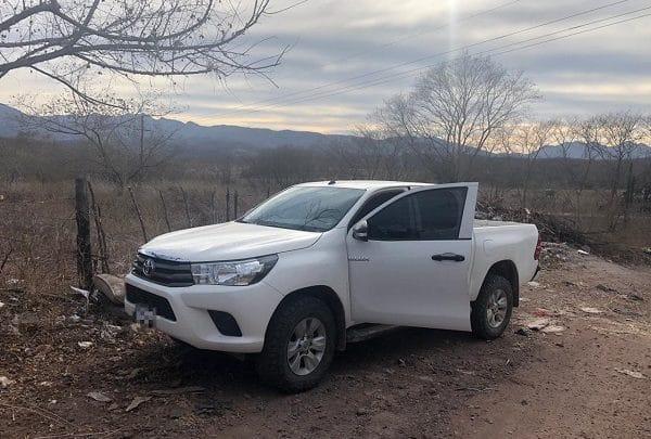BOMU recupera vehículo con reporte de robo en Guamúchil