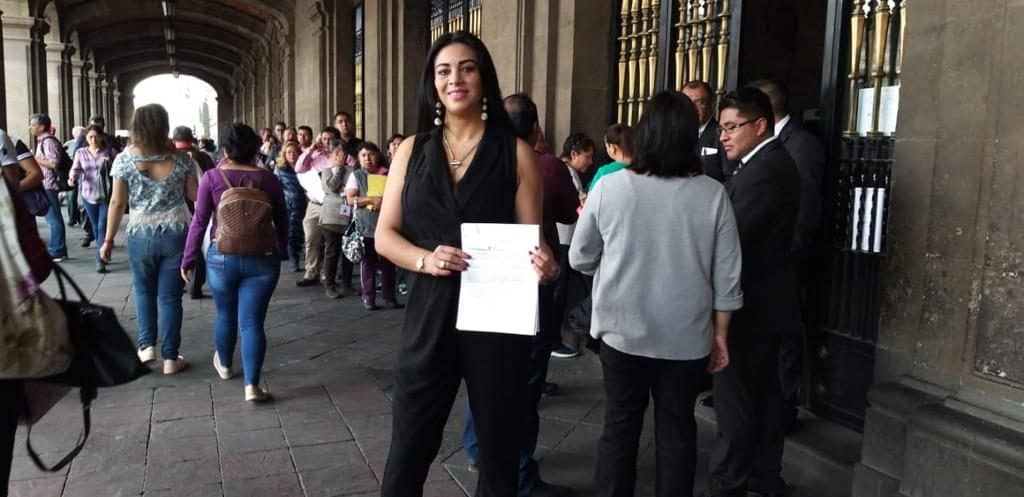 Presidenta de la Red Ciudadana de Iztapalapa, Janet Hernández Sotelo