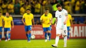 Messi no ha podido ganar ningún torneo con la Selección Mayor. Foto: Twitter