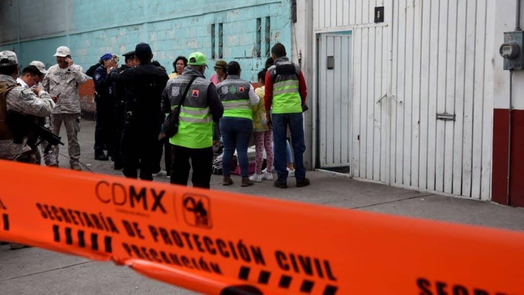 Cierran calle Añil por toma clandestina. foto: El Financiero