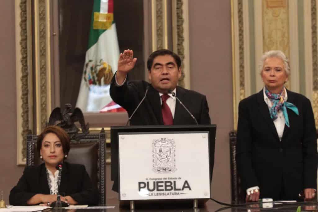 Miguel Barbosa Gobernador de Puebla