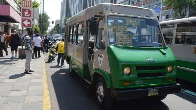 Transportistas de la CDMX piden que suba el pasaje a 10 pesos