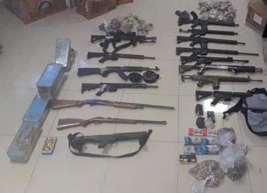 Encuentran granadas en Iztacalco