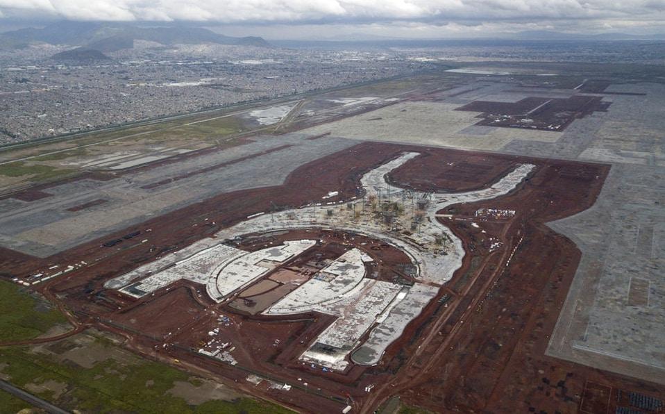 Finiquitan más del 90 por ciento de contratos del aeropuerto de Texcoco. Foto: Milenio
