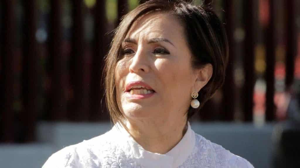 Rosario Robles, a prisión... La vinculan a proceso por actos de corrupción. Foto: Noticieros Televisa