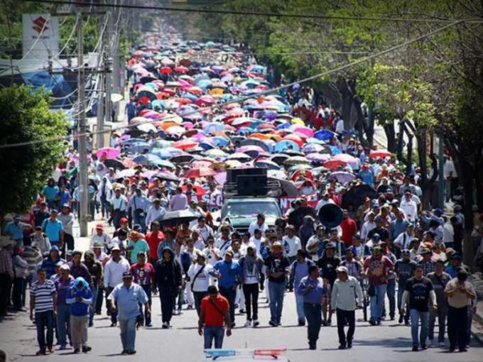 Gobierno de CDMX pide tomar precauciones por marchas y bloqueos del jueves 8 de agosto. Foto: Dinero en Imagen