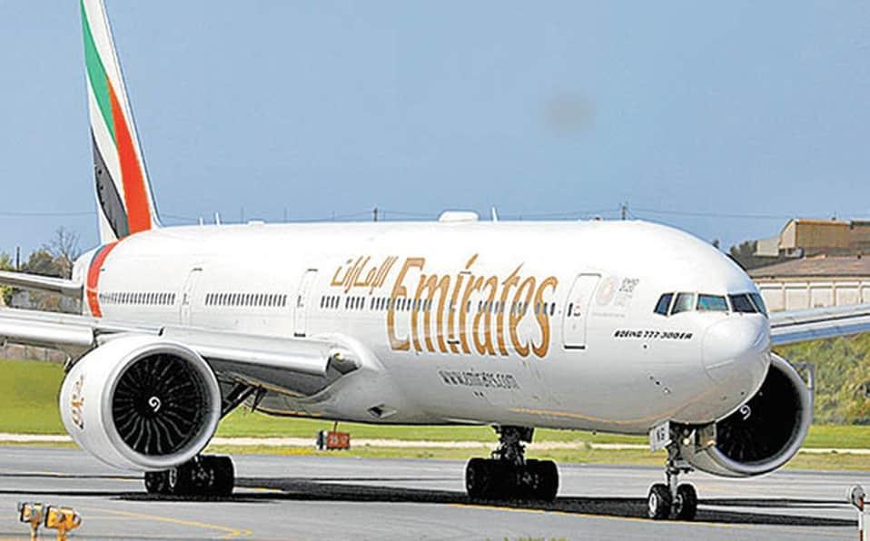 Senador del PAN busca suspender vuelo Mexico-Barcelona de Emiratos Airlines: Foto: Milenio