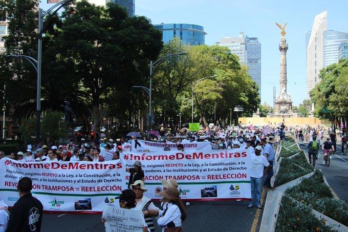 Marcha contra López