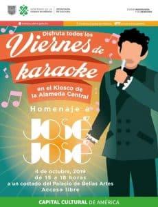 Karaoke en la alameda central José José