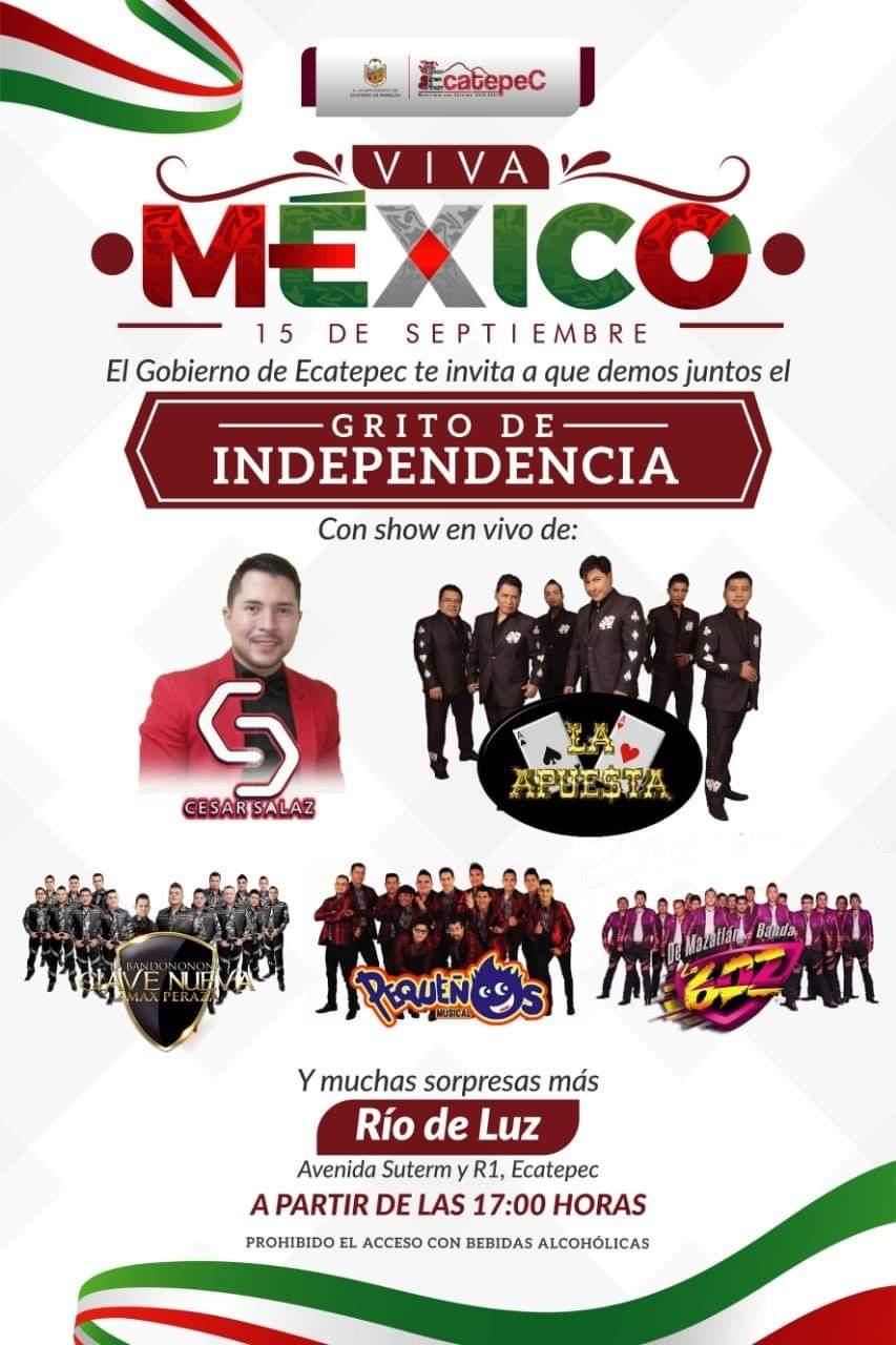 15 de septiembre en Ecatepec 2019