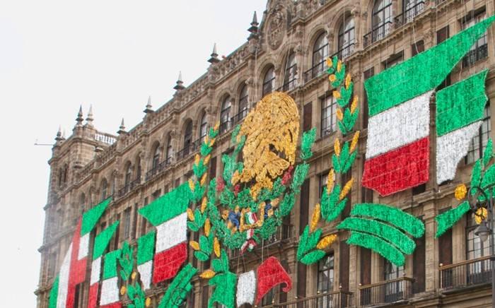 Festejos del 15 de septiembre en el Zócalo