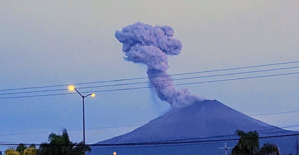 Domos de lava en Popocatépetl