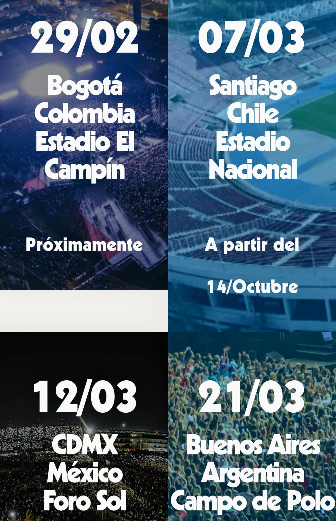 Concierto en México de soda Stereo