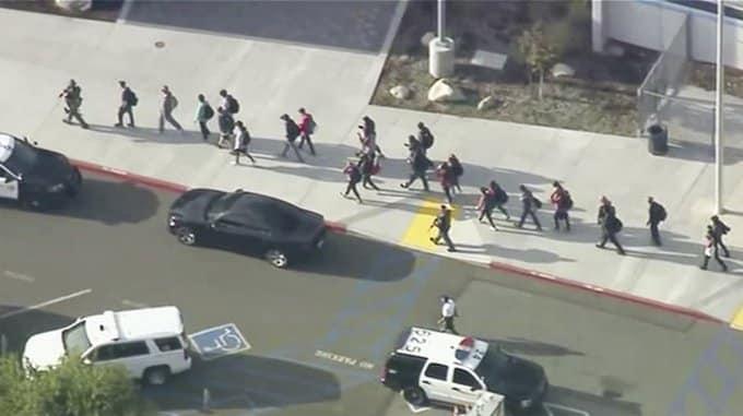 tiroteo en secundaria de California