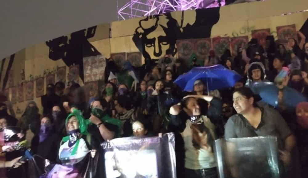 14 de febrero protesta feminista en cdmx por Ingrid Escamilla