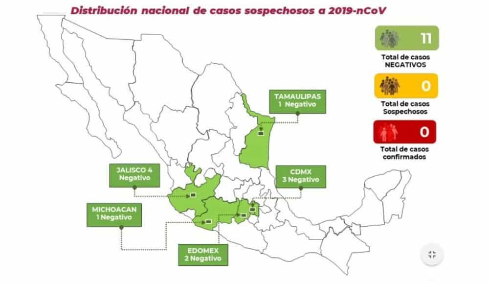 Descartan caso sospechoso de coronavirus en la CDMX