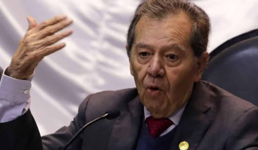 Muñoz Ledo arremete contra la 4T