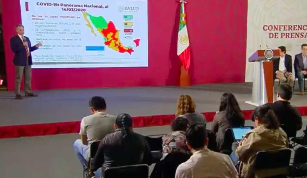 Se confirman 41 casos de coronavirus COVID-19 en México