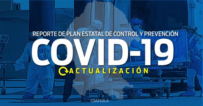 REPORTE COAHUILA DEL PLAN ESTATAL DE PREVENCIÓN Y CONTROL COVID-19