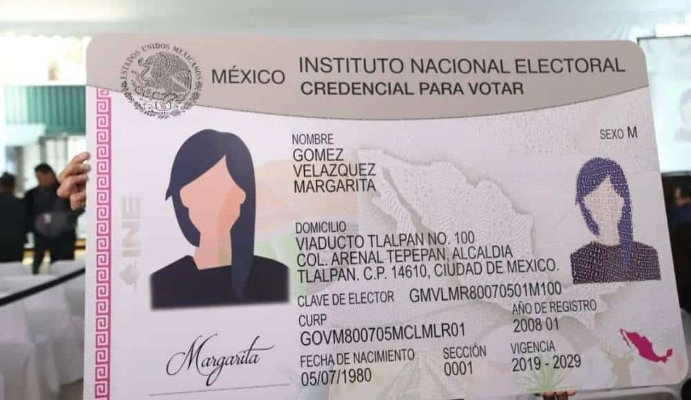 Comisión del INE aprueba extender vigencia de las Credenciales para Votar