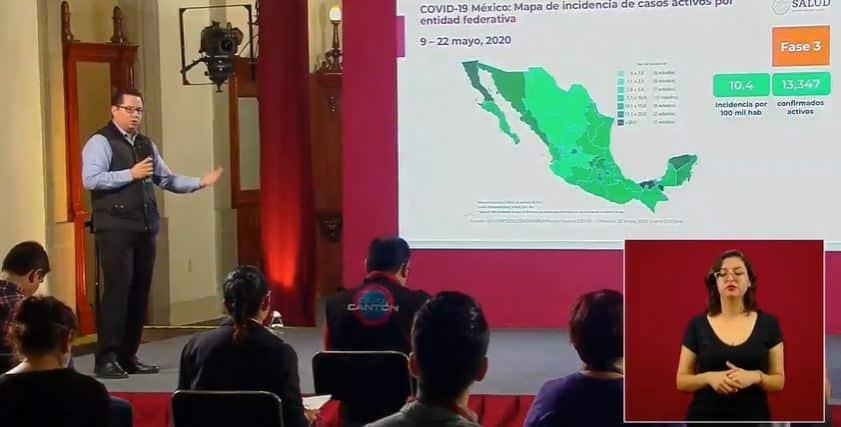 coronavirus en México al 22 de mayo portada