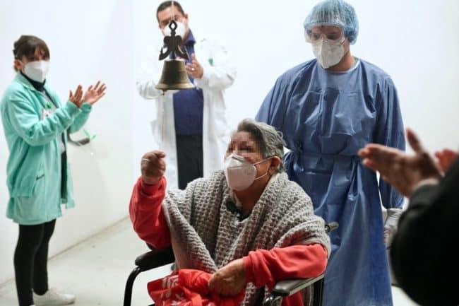 egresan 25 pacientes del Hospital de Expansión Autódromo Hermanos Rodríguez