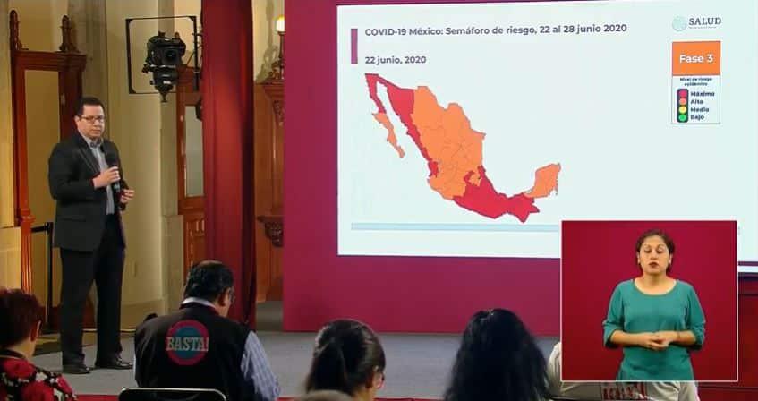 Coronavirus en México al 22 de junio portada