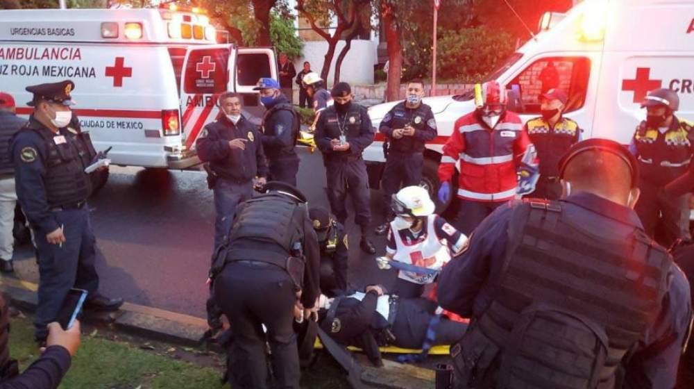 Cruz Roja atendió a seis heridos de bala y 30 personas con crisis nerviosa