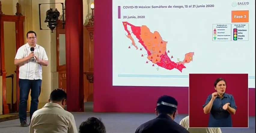 coronavirus en México al 20 de junio portada