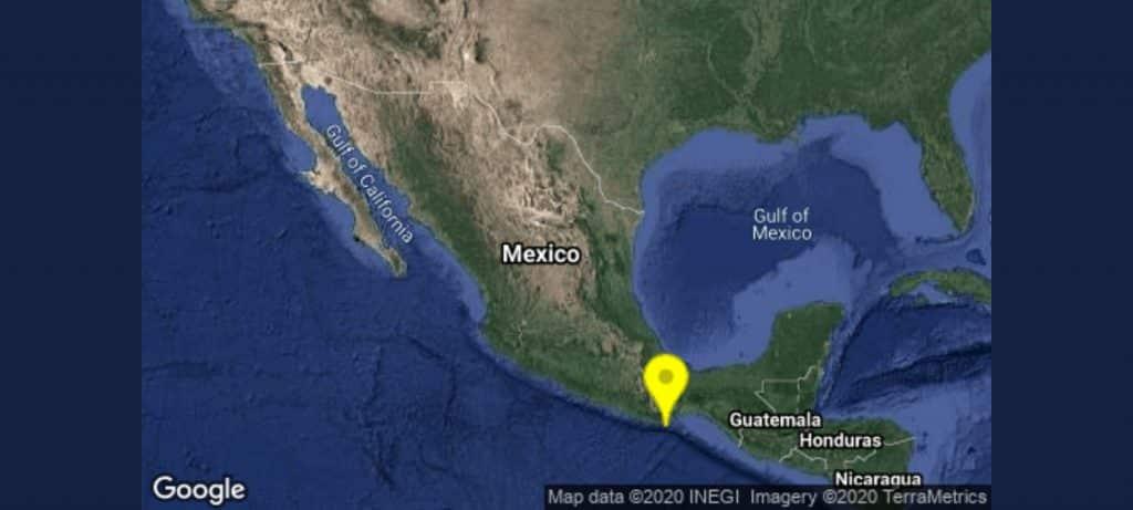 Sismo en Oaxaca del jueves 23 de julio