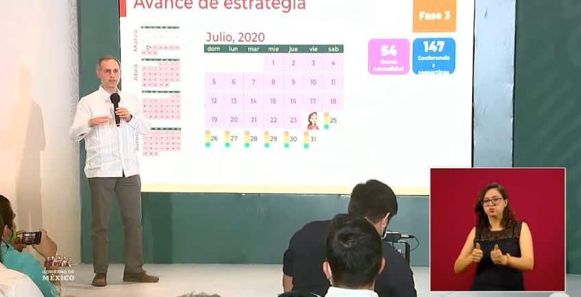 coronavirus en México al 24 de julio portada