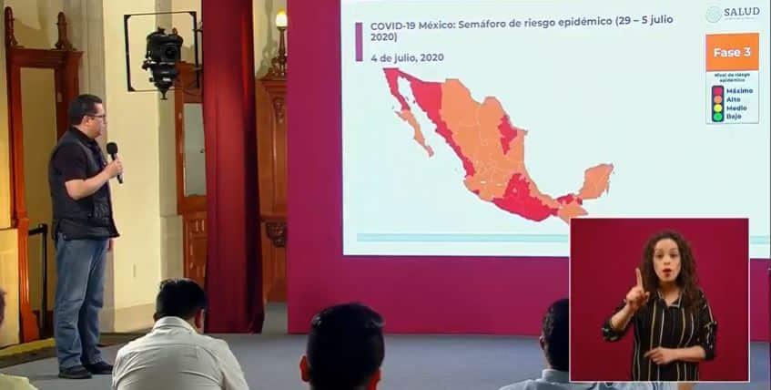 coronavirus en México al 4 de julio portada